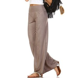 ❗️NEW❗️Best Palazzo Pants In Mocha Softest Size XL